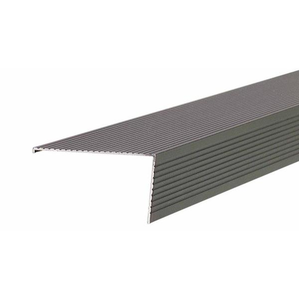 TH026 2.75 in. x 1.5 in. x 72 in. Bronze Sill Nosing Weatherstrip