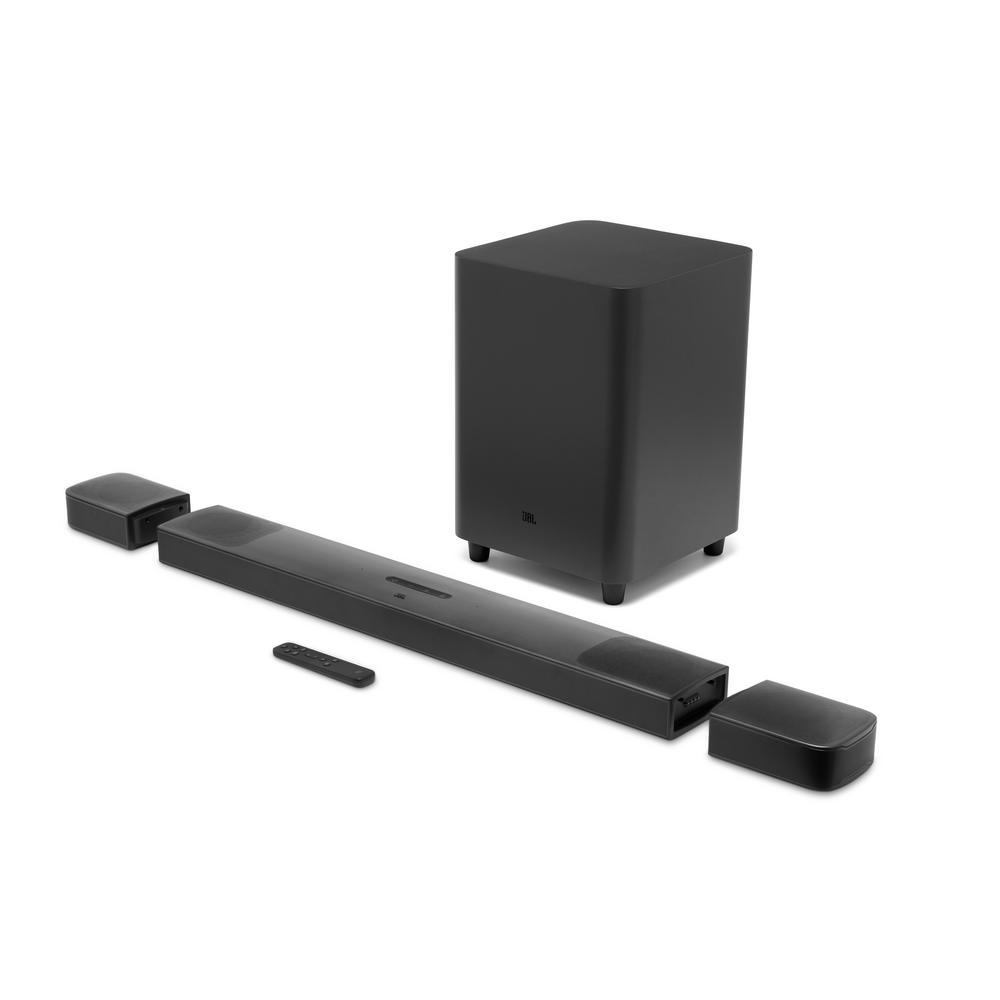 JBL Home Audio 9.1 Soundbar with Subwoofer, Black
