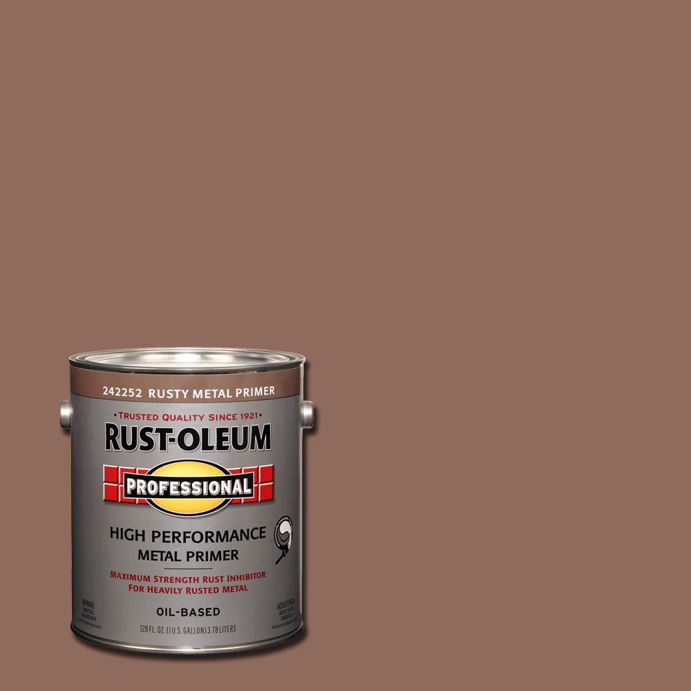 Rust-Oleum Professional 1 gal  Red Flat Rust Preventive Primer