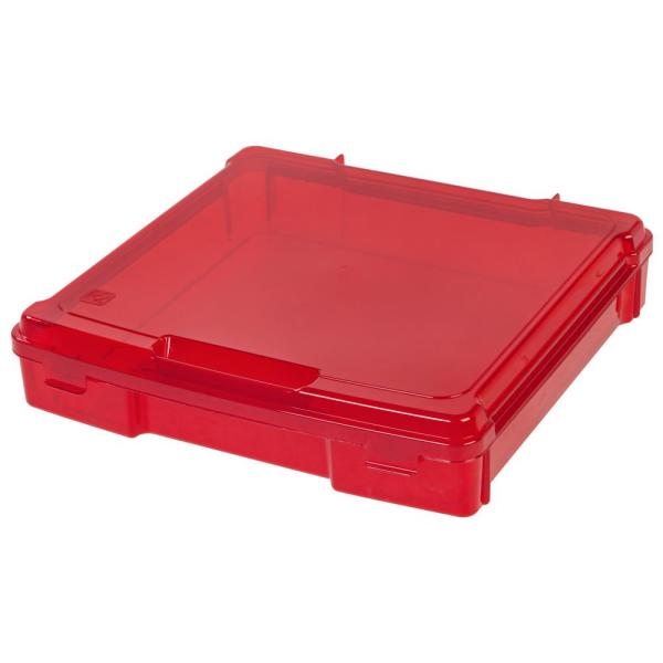 Portable Project Storage Case in Red
