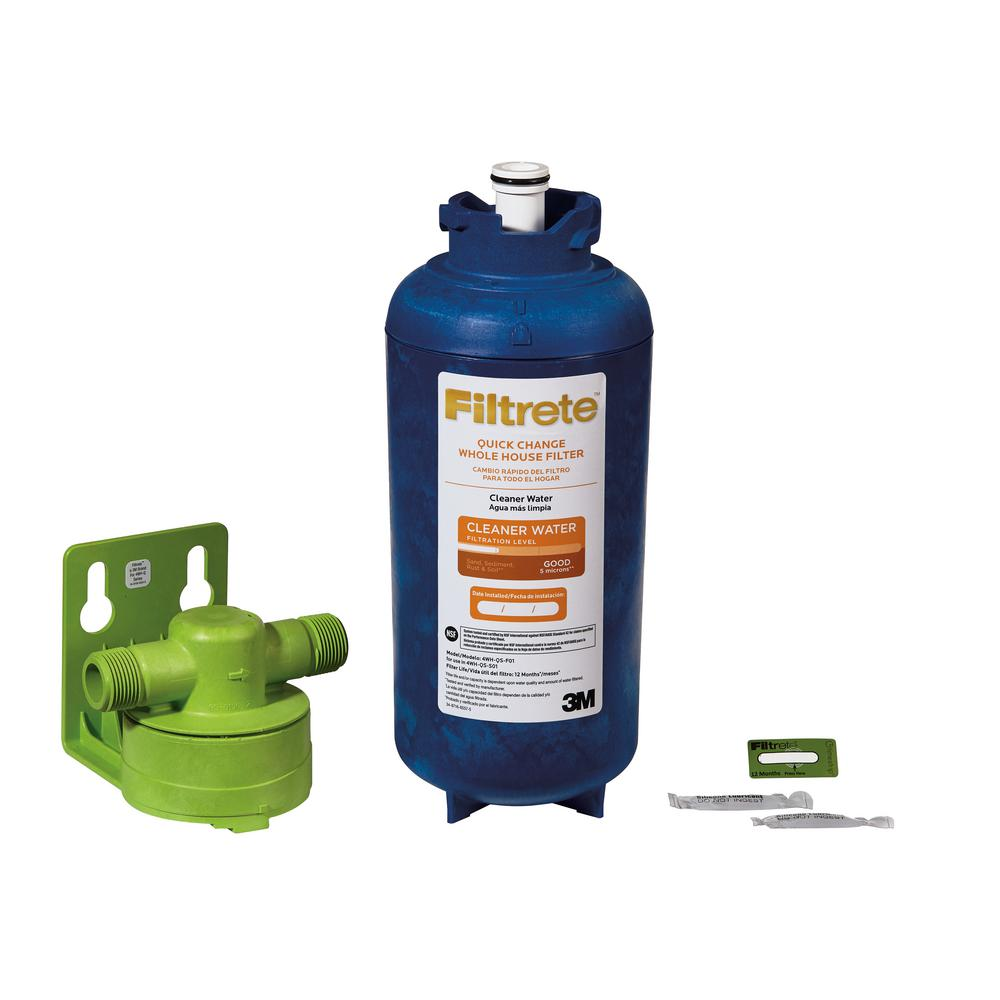 Filtrete Large Capacity High Performance Whole House Pre-Filtration System
