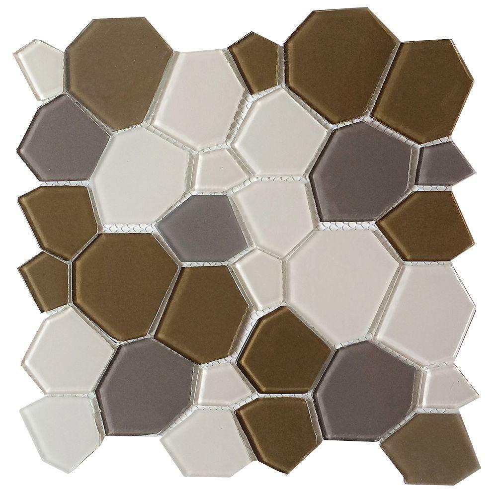 Upscale Designs 11-1/2 in. x 11-1/2 in. x 4 mm Glass