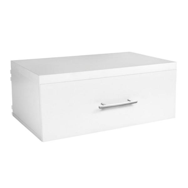 Elite 23.60 in. x 9.80 in. Wood Drawer in White