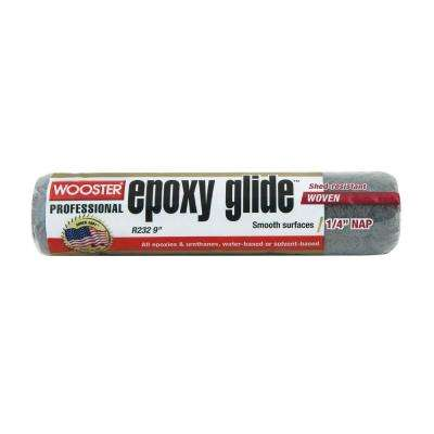 9 in. x 1/4 in. Epoxy Glide Roller Cover