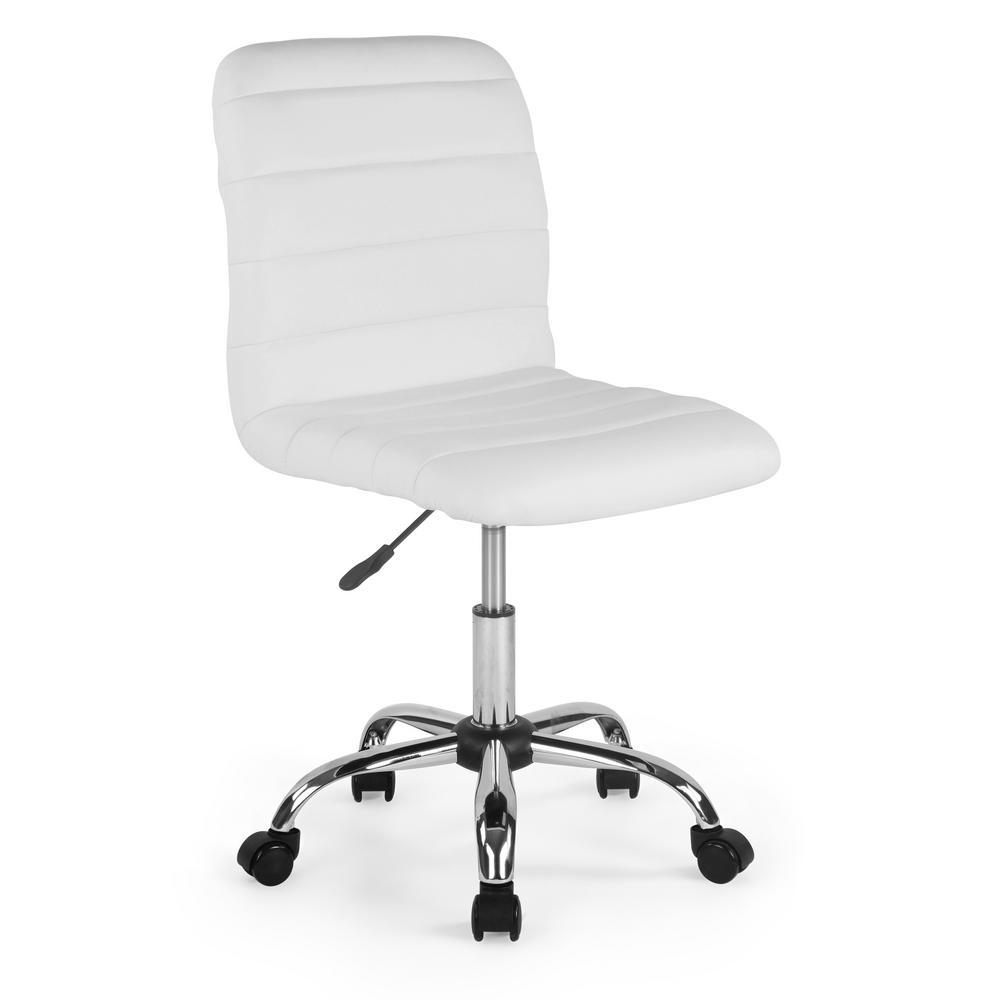 Polox White Task Chair