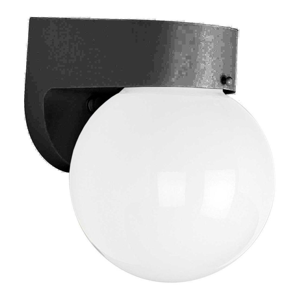 Hammonds 1-Light Black Outdoor Wall Lantern