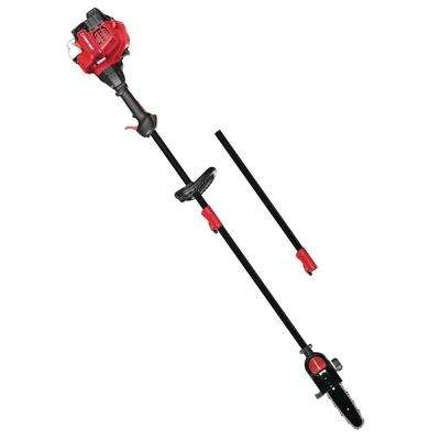 8 in. 25 cc 2-Cycle Attachment Capable Gas Pole Saw with Automatic Chain Oiler