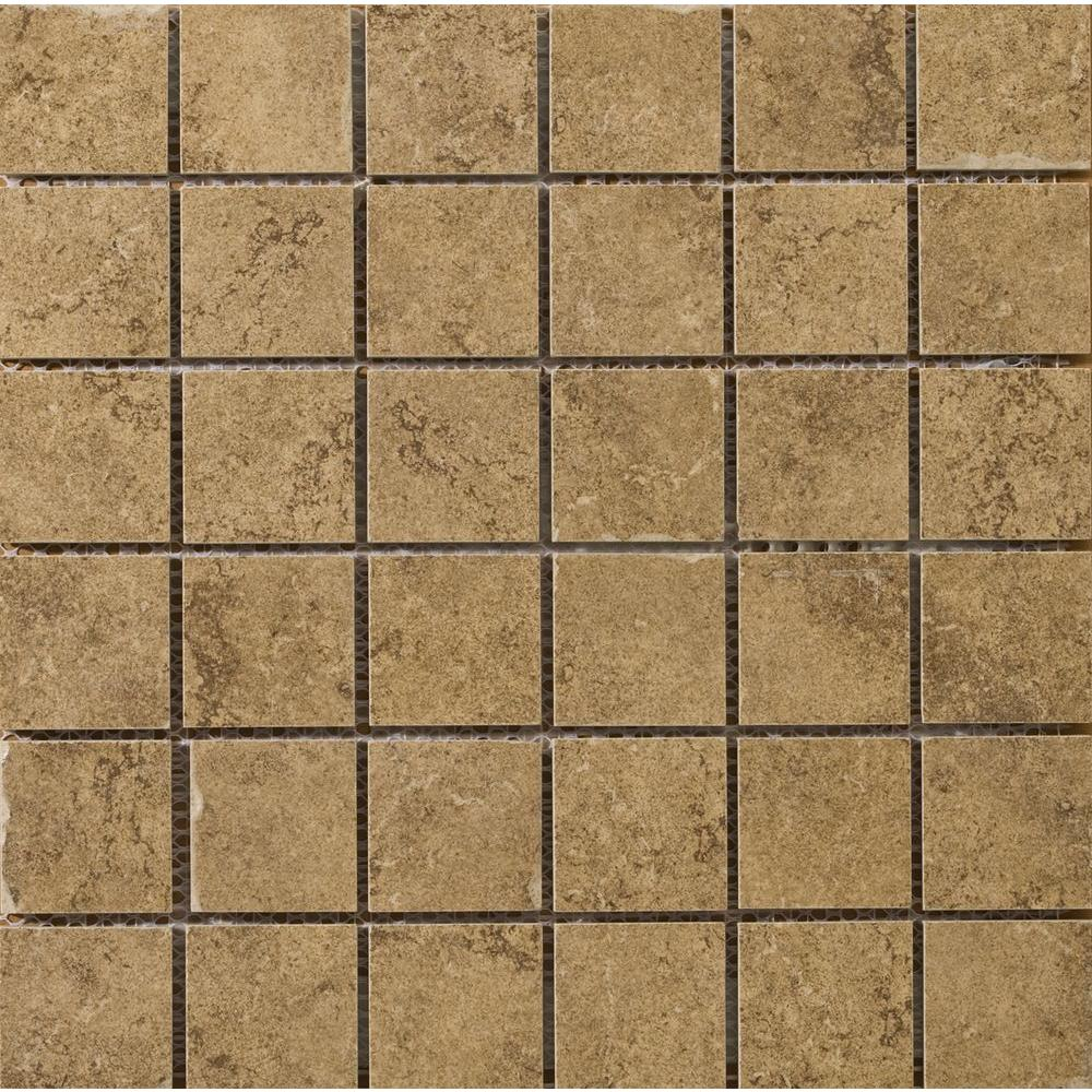 Emser Genoa Marini 13 In X 7 8 Mm Porcelain Mesh Mounted Mosaic Tile