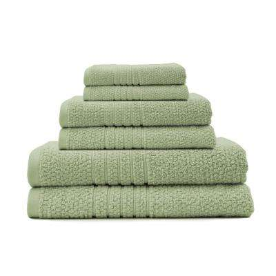 Softee 6-Piece 100% Cotton Bath in Seedling