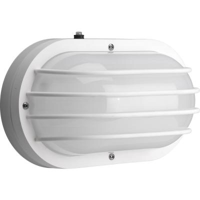 Polycarbonate Collection 2-Light 10.6 in. Outdoor White Wall Lantern