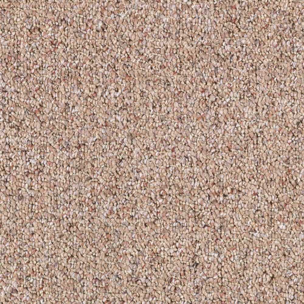 Carpet Sample-Disco - Color Sandcastle Berber 8 in. x 8 in.