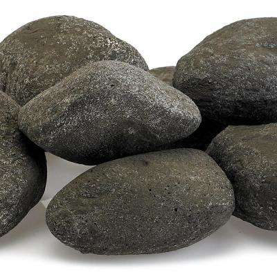 Thunder Gray Lite Stones - 15 Stone Set Includes 2 lbs. Small Lava Rock