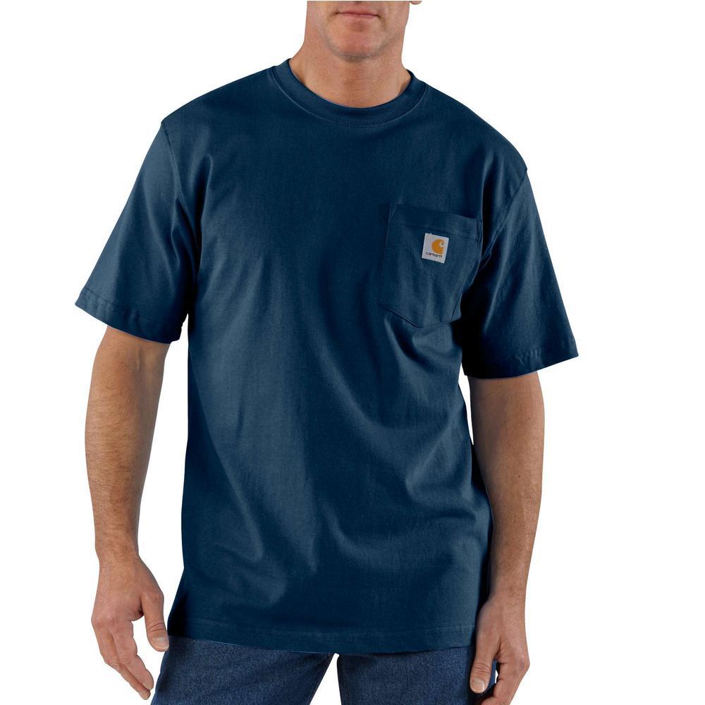 Carhartt Men's 4X Large Tall Peat Cotton Workwear Pocket