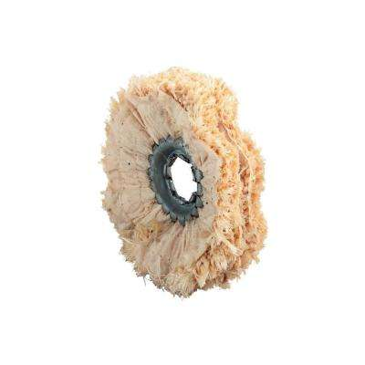 4 in. x 19/32 in. Sisal Polishing Rings (5 per Pack)