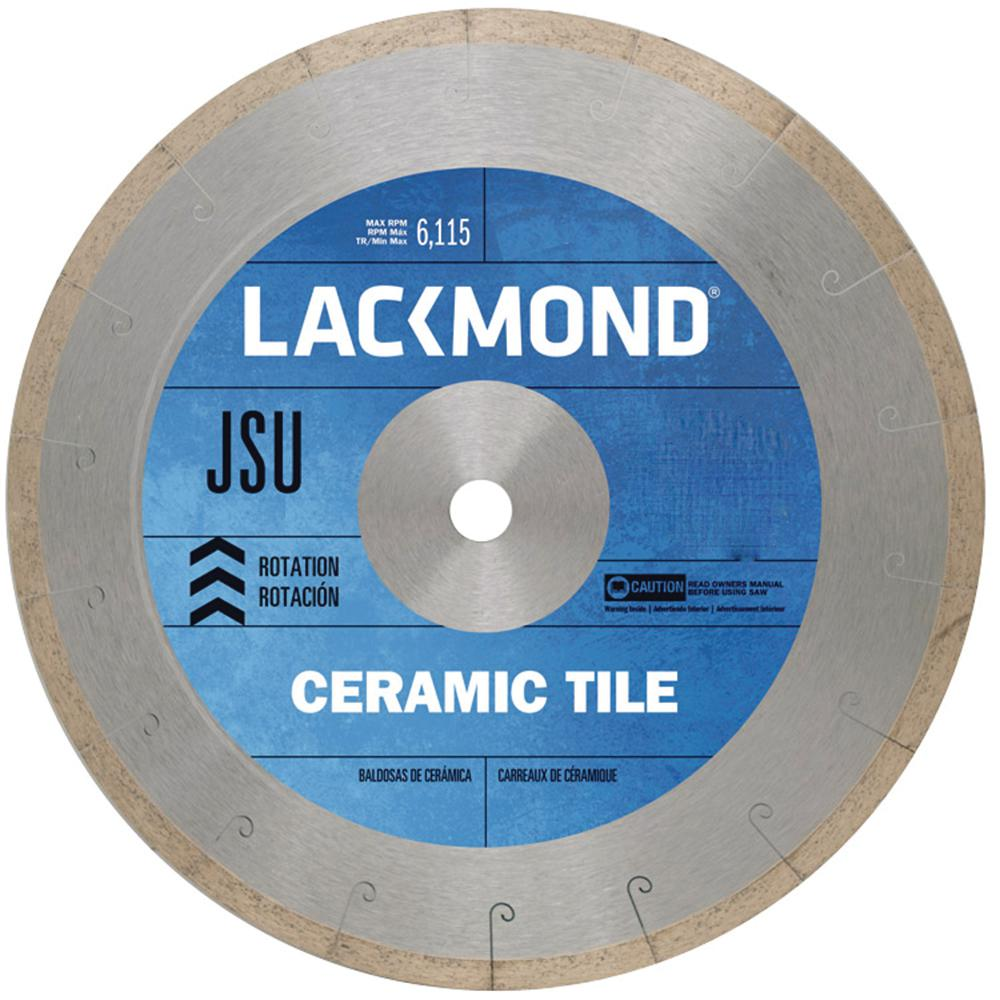 7 in. J-Slot Rim Diamond Diamond Tile Blade for Wet Cutting