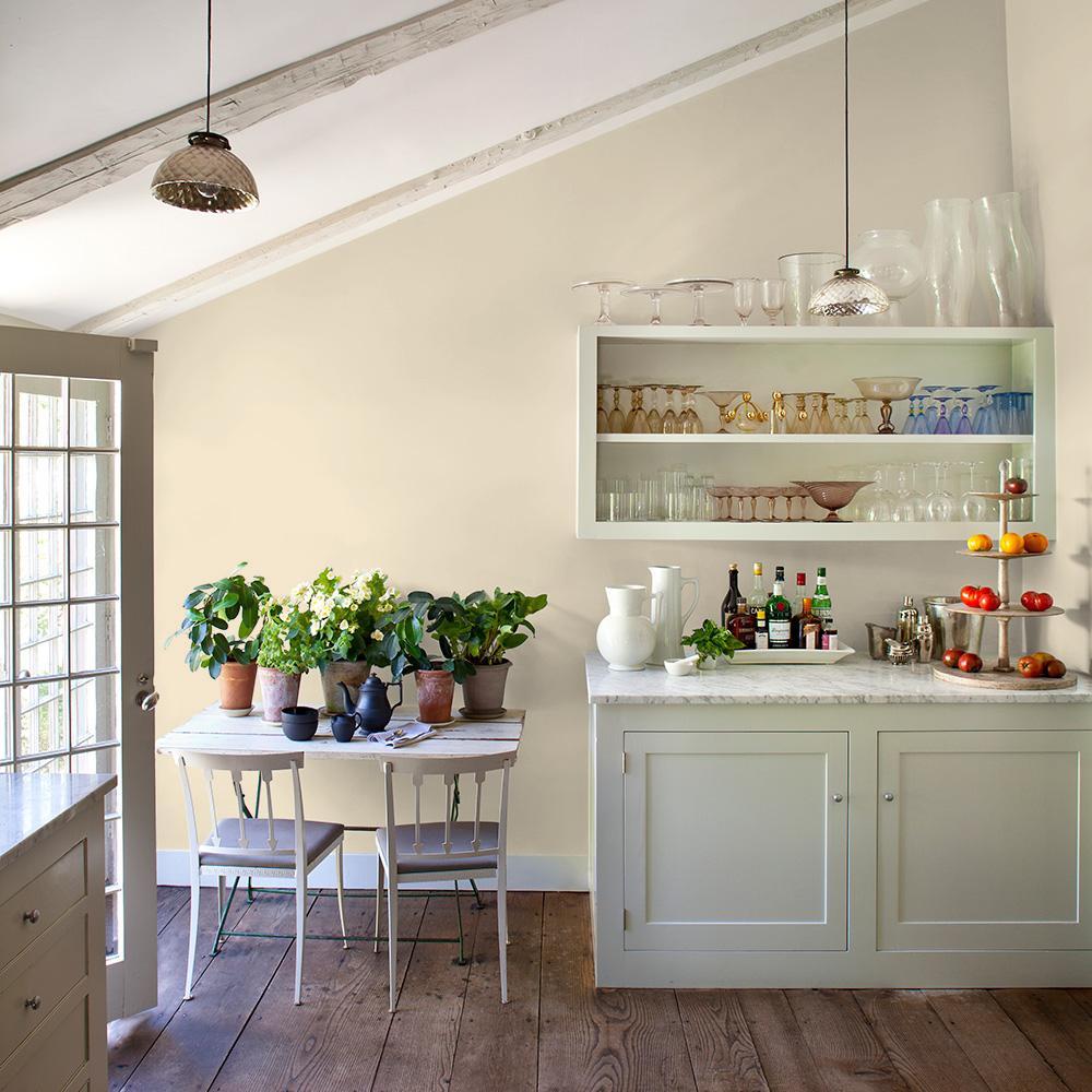 Reviews For Glidden Essentials 1 Gal Ppg1090 1 Magnolia Blossom Semi Gloss Interior Paint Ppg1090 1e 01sg The Home Depot
