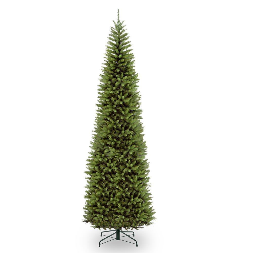 national tree company 12 ft kingswood fir pencil tree kw7 500 120 the home depot. Black Bedroom Furniture Sets. Home Design Ideas