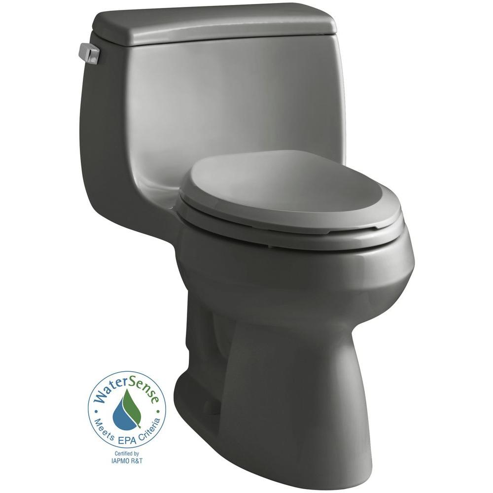 Kohler Gabrielle Comfort Height 1 Piece 28 Gpf Single Flush Elongated Toilet With Aquapiston Flushing