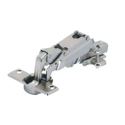 Wide Angle 1 3/8 in. Overlay 165 Frameless Hinge (2-Pack)