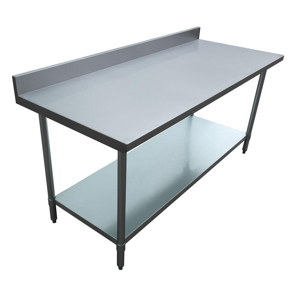 Alera Industrial Kitchen Carts At Lowes Com: Excalibur Stainless Steel Kitchen Utility Table With