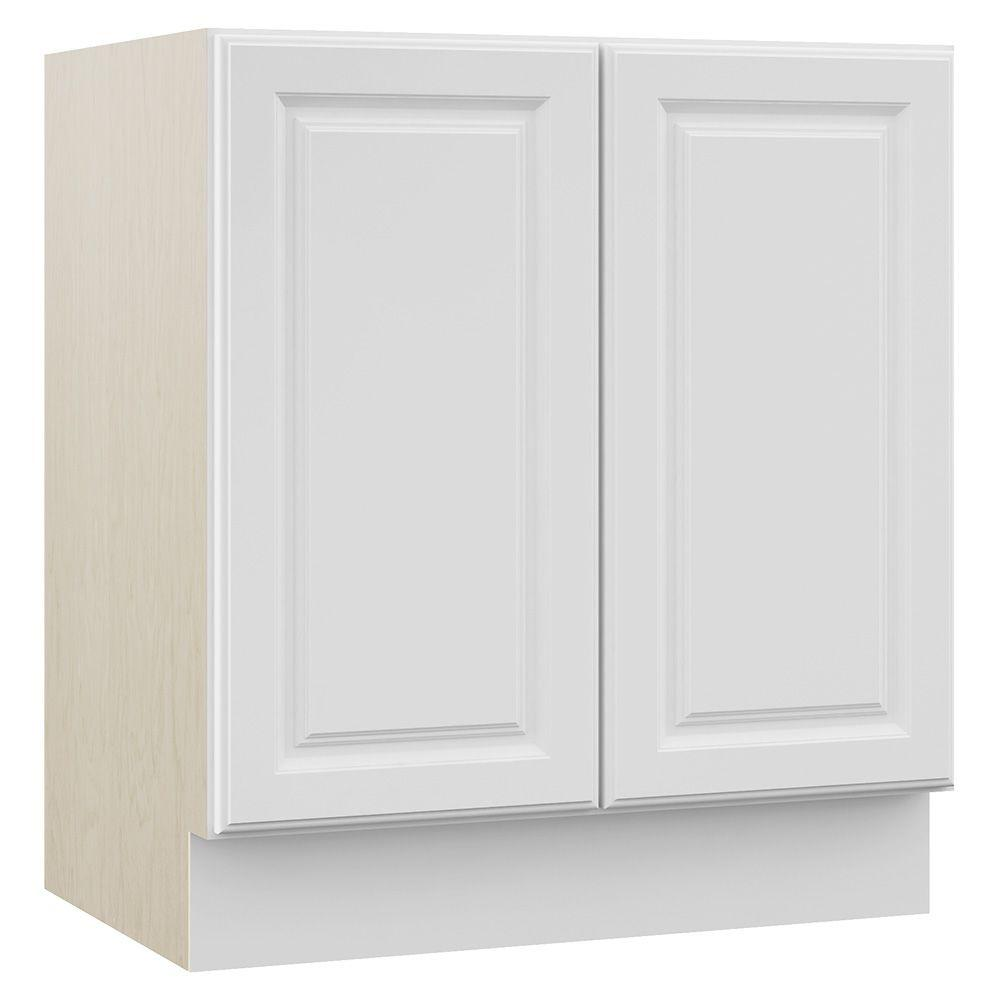 Masterbath Cambridge 30 In W X 21 5 In D X 33 5 In H Bath Vanity Cabinet Only In White Eb30