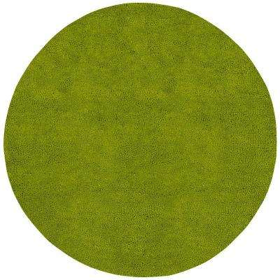 Cambridge Lime Green 8 Ft Round Area Rug