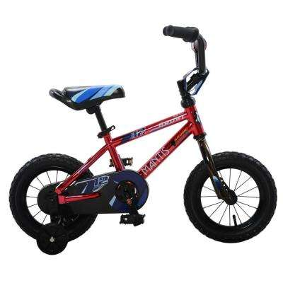 Growl Red Ready2Roll 12 in. Kids Bicycle