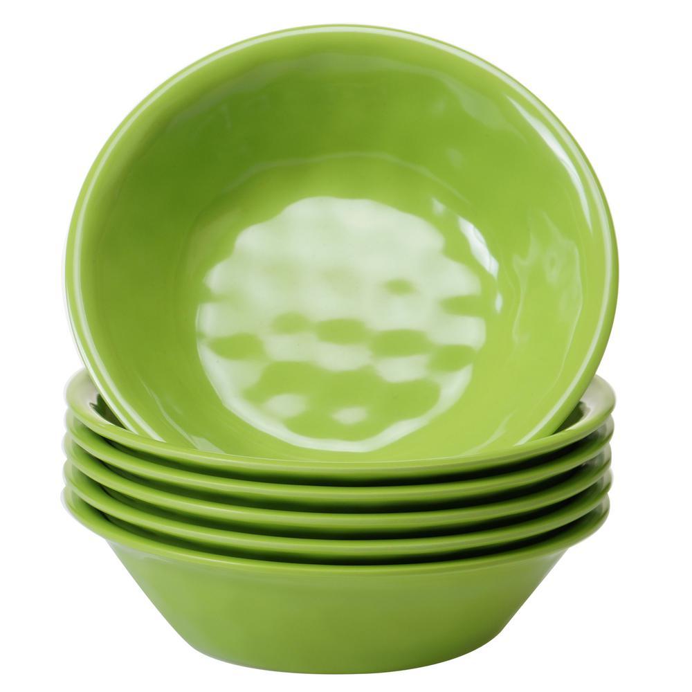 6-Piece Green Bowl Set