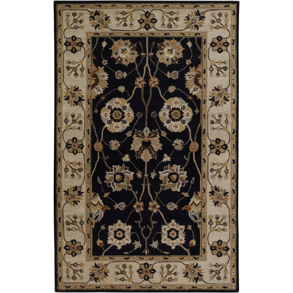John Black 8 ft. x 11 ft. Area Rug