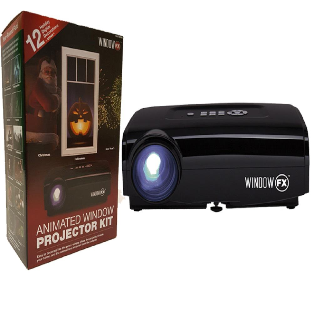 YoW Seasonal Window FX Projector Animated Window Display Kit