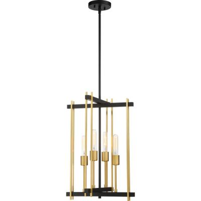 4-Light Bronze Pendant Light
