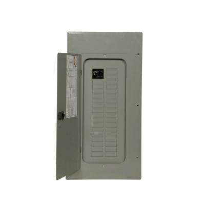 BR 100 Amp 30-Space 30-Circuit Indoor 22k Main Breaker Loadcenter with Cover Value Pack (3-BR120, 1-BR230)