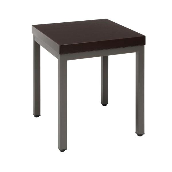 Core Collection 16 in. Espresso Modern Side Table