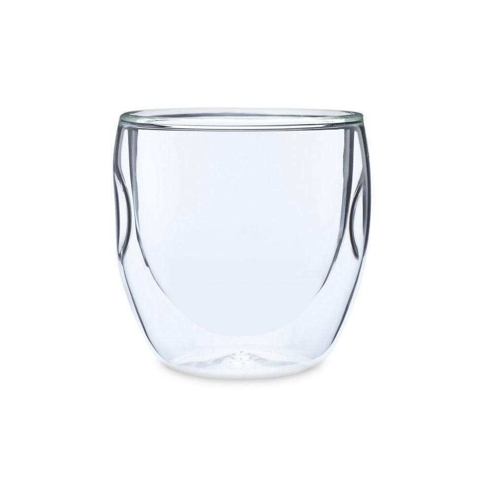 Moderna Artisan Series Double Wall 8 oz. Beverage Glasses (Set of 8)