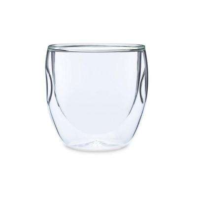 Moderna Artisan Series Double Wall 8 oz. Beverage Glasses (Set of 8)