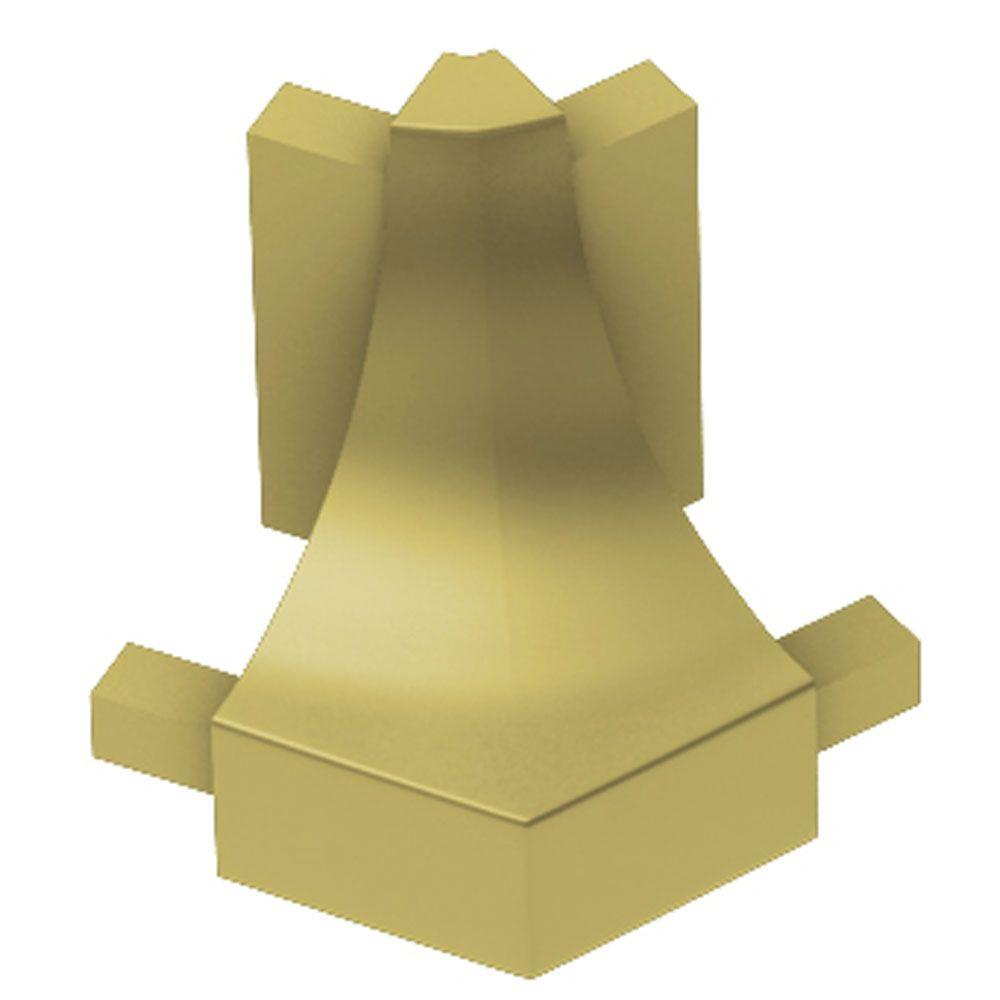 Dilex-AHK Satin Brass Anodized Aluminum 1/2 in. x 1 in. Metal