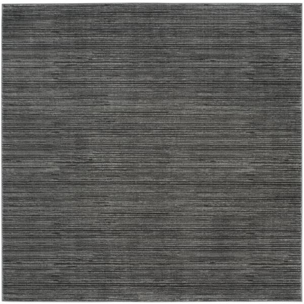 Vision Gray 4 ft. x 4 ft. Square Area Rug