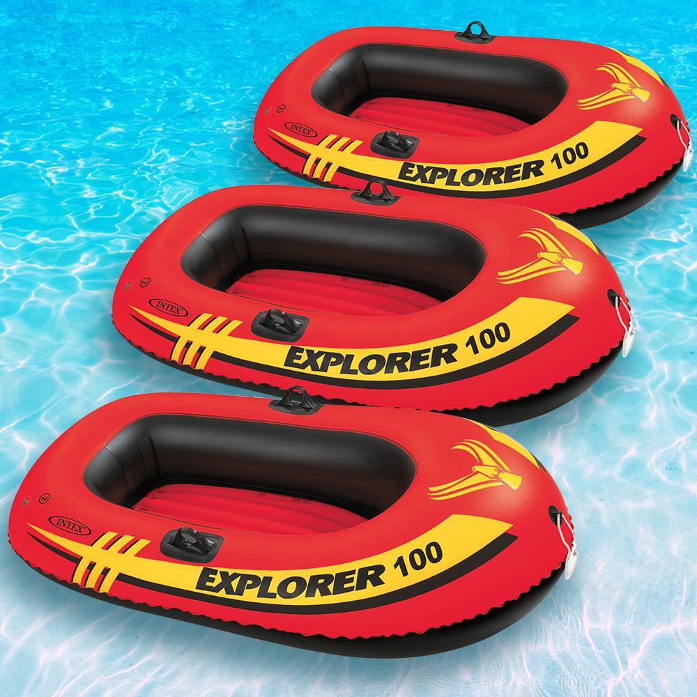 Intex Recreation Explorer 100 1-Person Inflatable Floatin...
