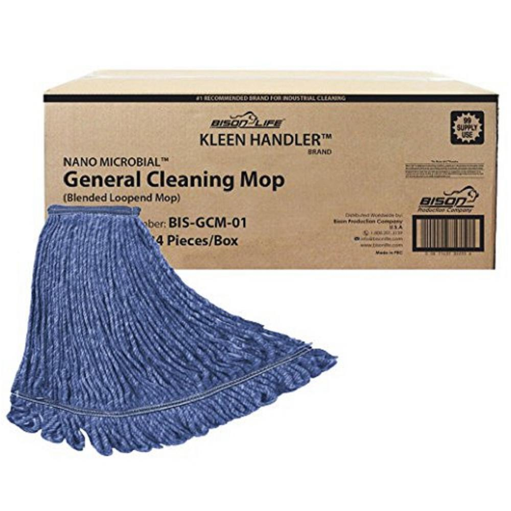Heavy-Duty Commercial Mop Head Replacement, Cleaning Mop Head Refill (Case of