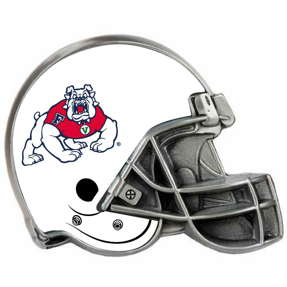 Fresno State Helmet Hitch Cover