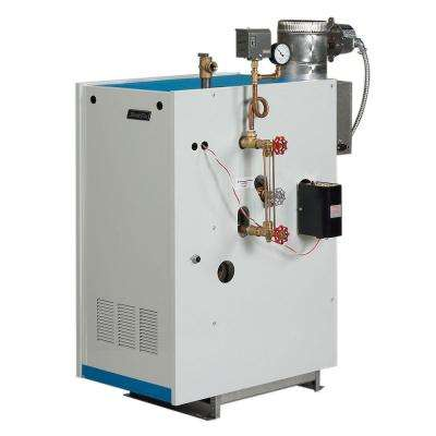 Galaxy Natural Gas Steam Boiler with 100,000 BTU Input 61,000 BTU Output Intermittent Electronic Ignition