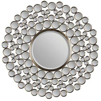 Andromeda 42 in. H x 42 in. W Round Mirror
