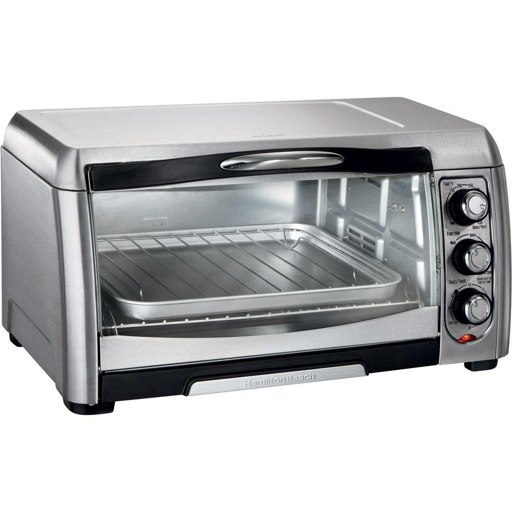 Hamilton Beach Stainless Steel Convection Toaster Oven-DISCONTINUED