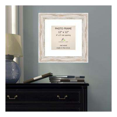 Alexandria 8 in. x 8 in. Whitewash Picture Frame