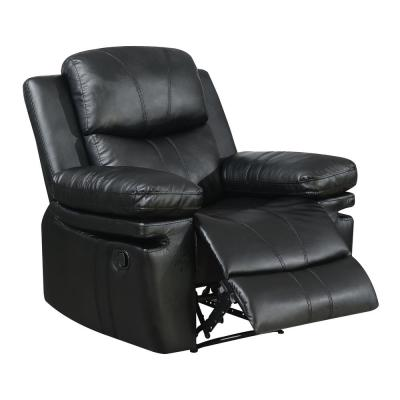 Astonishing Brody Black Bonded Leather Recliner Caraccident5 Cool Chair Designs And Ideas Caraccident5Info