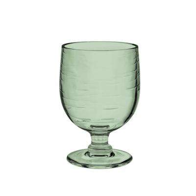 10.5 oz. 6-Piece Cordoba Recycled Green Stacking Goblet Set