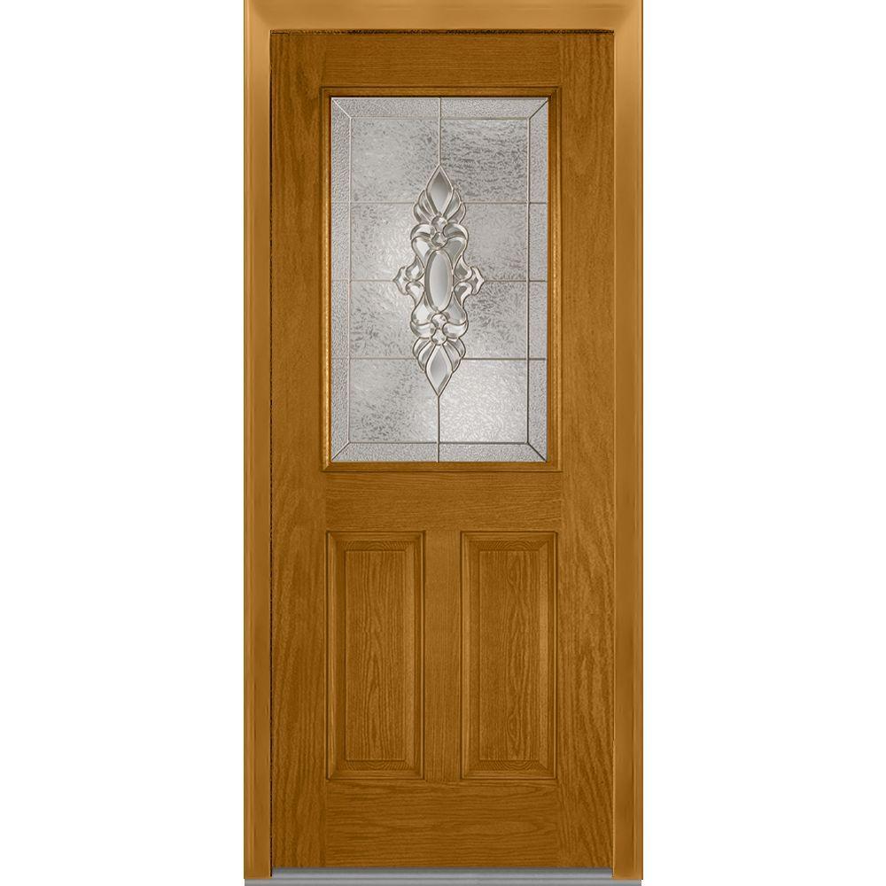 Mmi Door 36 In X 80 In Heirloom Master Left Hand Inswing Full Lite