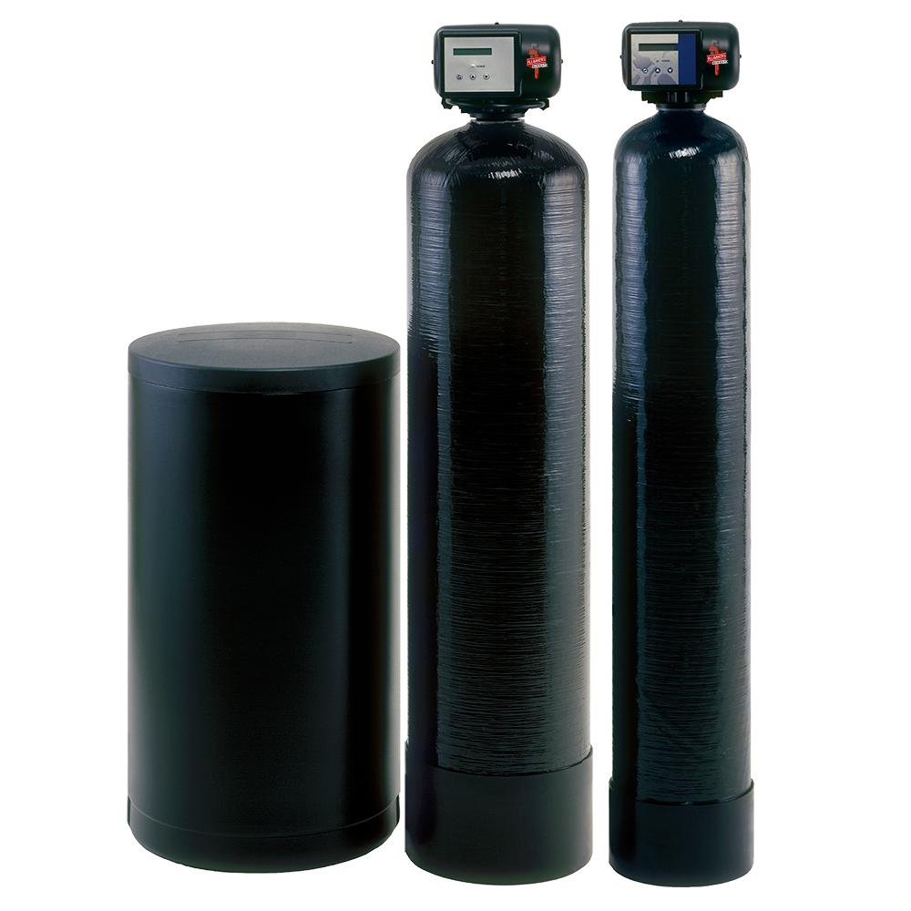 Plumber's Direct Whole House Well Water Filtration System Hardness, Iron and Sulphur Removal