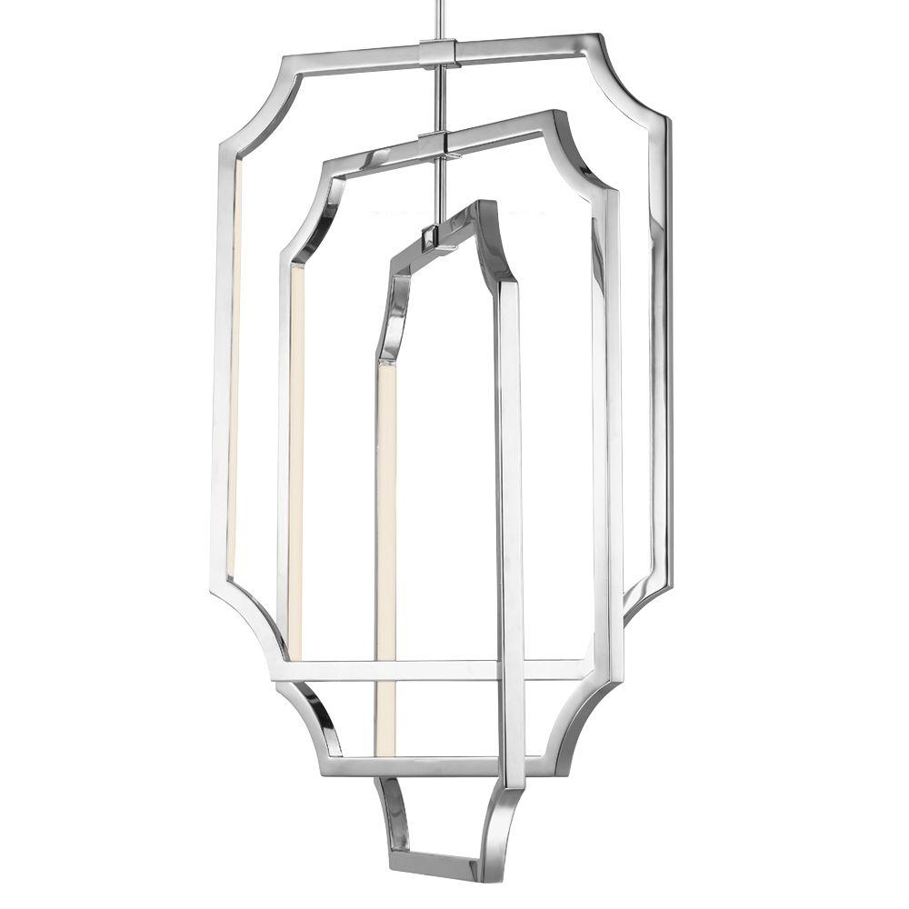 Feiss Audrie Polished Nickel Chandelier