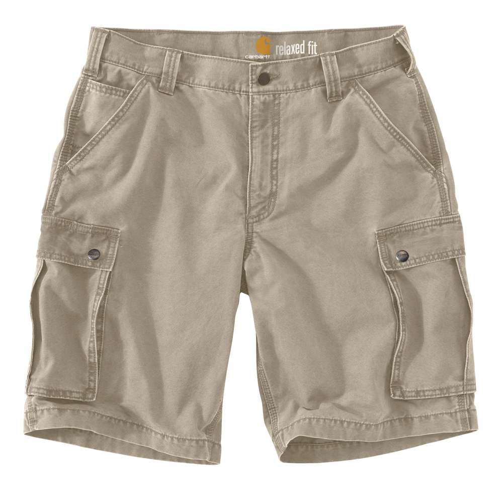 Men's Regular 34 Tan Cotton Shorts